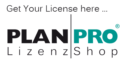 Get Your License in the PLANPRO Lizenzshop